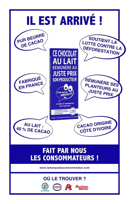 Cahier des charges chocolat au lait des consommateurs - C'est qui le Patron
