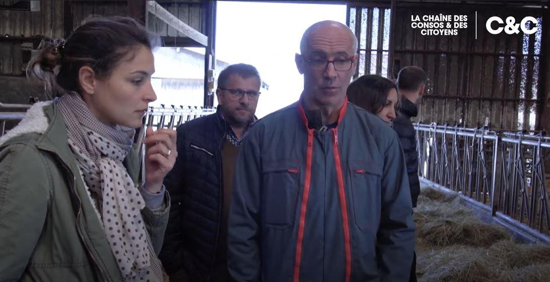 Visite sociétaire producteurs fromage blanc C'est qui le patron