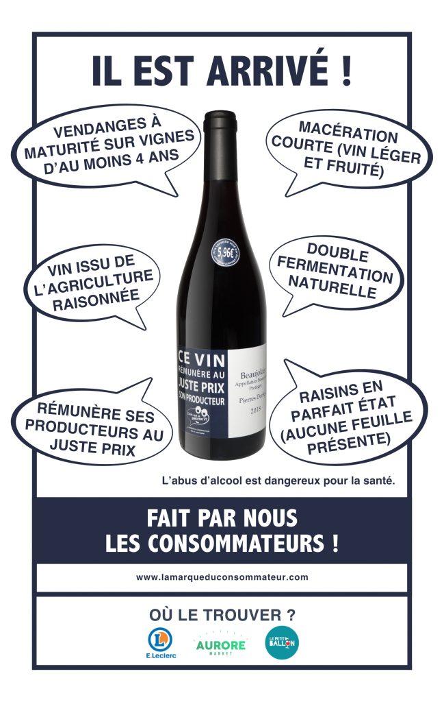 vin beaujolais des consommateurs