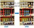 Vote étiquette miel des consommateurs
