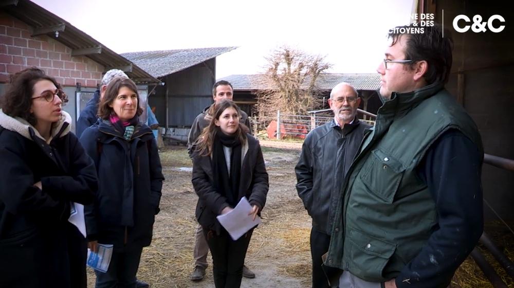 Visite sociétaires producteur lait des consommateurs - C'est qui le patron