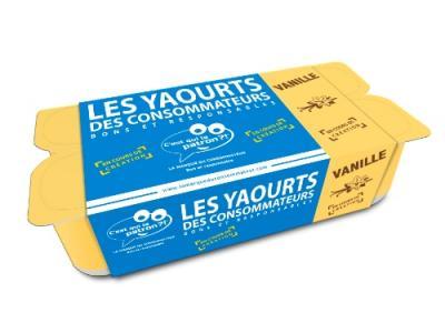 Yaourt vanille des consommateurs - C'est qui le Patron