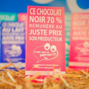 Plaquette de chocolat des consommateurs - C'est qui le Patron