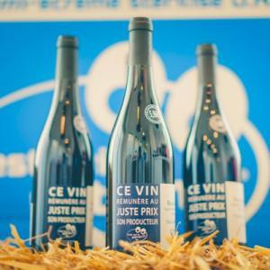 Bouteille de vin C'est qui le Patron