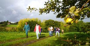 Visite sociétaires producteur jus de pommes C'est qui le patron