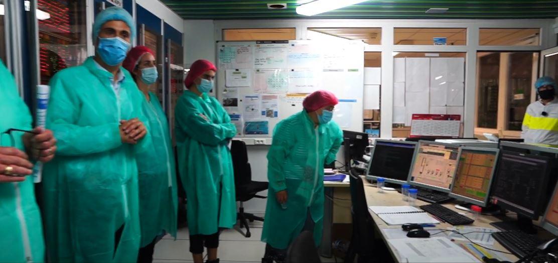 Visite sociétaires usine yaourt C'est qui le patron